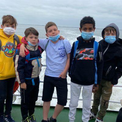 Mit dem Schiff nach Langeoog